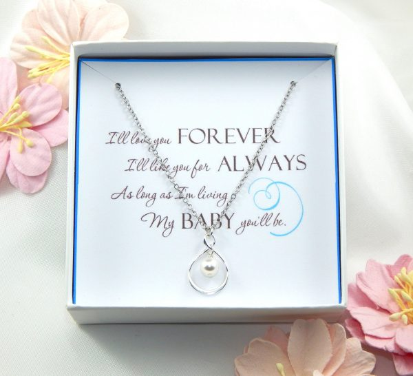 Daughter Necklace Gift, Daughter Gift Box Necklace, Wedding Gift For Daughter, Appreciation Gift, Gift From Mother To