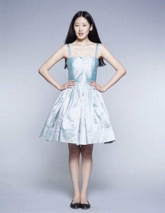 Dress For Women, Wedding Guest Dress, Romantic Sweet 16 Japanese Clothing, Silver Formal Dance New Year