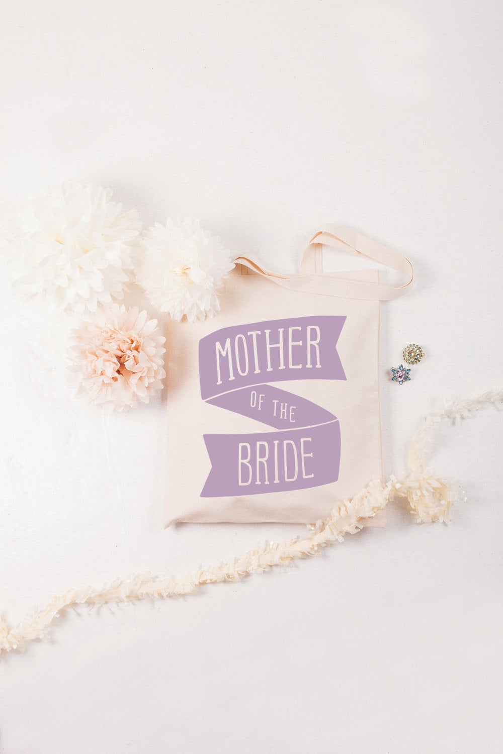 Mother Wedding Bag - Bridal Party Tote Of The Bride Bachelorette Party