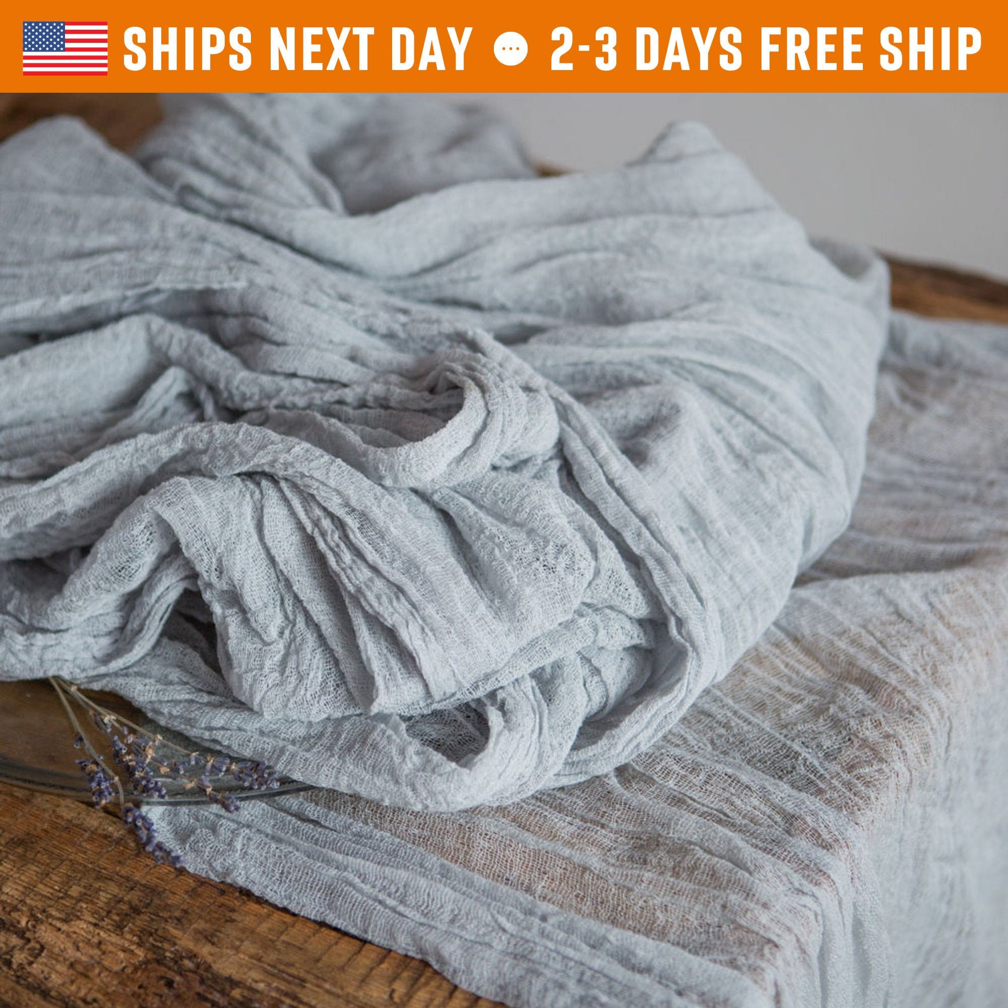 Newborn Photography Props Cheesecloth Photo Wrap Hand Dyed Cheese Cloth Cotton Scrim Knit Gauze Table Runner Nuno Felting Fabric Kit