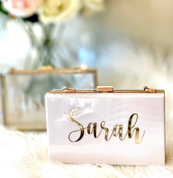 Personalised Bridesmaid Bag| Gift Ideas| Personalized Gift| Maid Of Honor Matron | Bride Purse Bag For Wedding