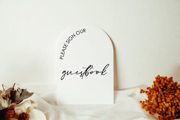 Photo Guest Book Sign   Cards & Gifts Acrylic Wedding Sign Well Wishes Wedding Clear Signage
