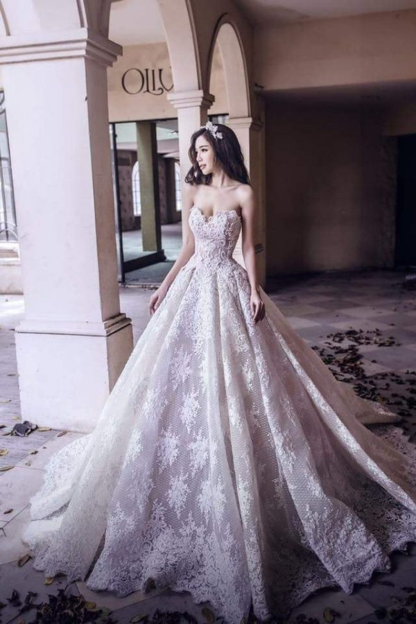 Princess Wedding Dress, Made To Measure Bridal Gown, Affordable High Quality Dress Ship Worldwide