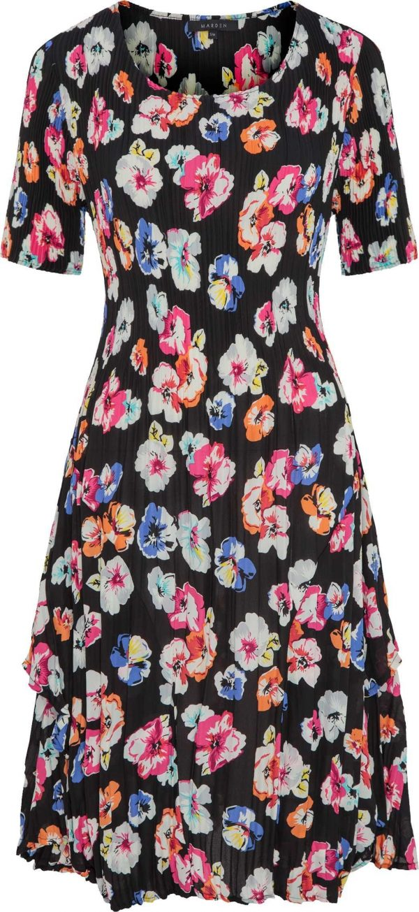 Pretty Floral Print Layer Dress, Wedding Guest, Special Occasion