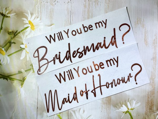 Proposal Box Sticker|Will You Be My Sticker|Diy Gift Bag Label|Bridesmaid Maid Of Honor Proposal Sticker|Gift Decal|Wedding Role