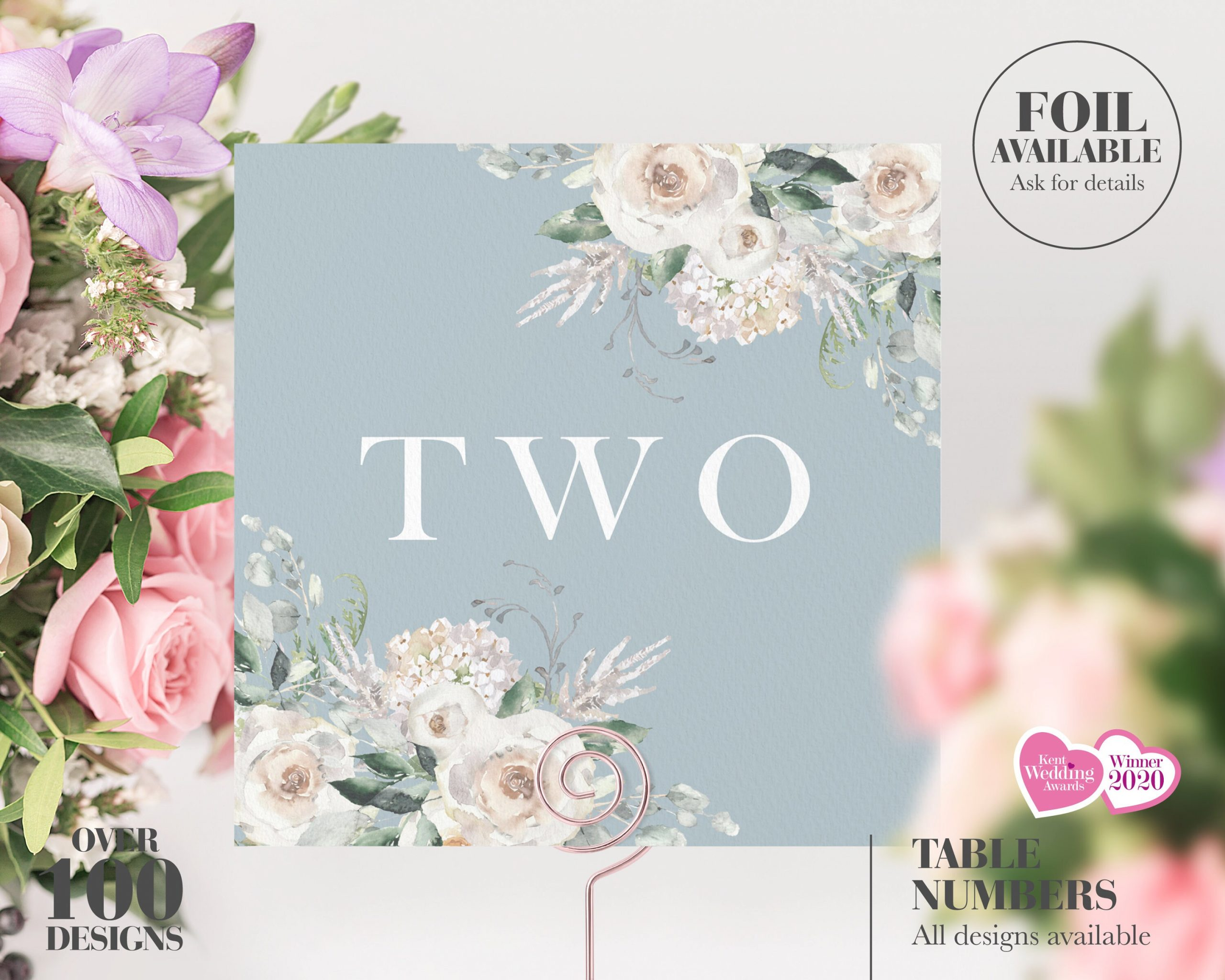 Wedding Table Number, Numbers, Breakfast Names, Cheap Decor, Floral, Dusty Blue