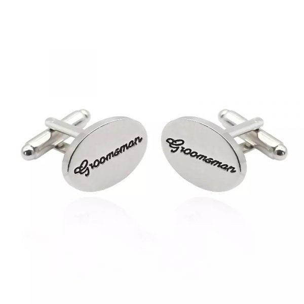 Cuff Links/Bridal Party Groom Groomsmen Father Of The Bride Wedding Day Proposal Box Filler Best Man Formal Attire